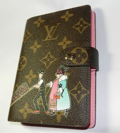 Louis Vuitton Passport Cover, Louis Vuitton Agenda, Too Cool For School, Small Rings, Filofax, Planners, Bullet, Luxury, Lady