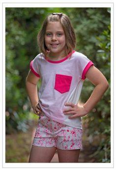 484de810c1d Girls summer shorts sewing pattern SANDY BAY SHORTS