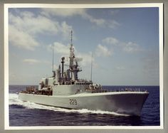 "HMCS Ottawa DDH-229 Color 8"" x 10"" Photograph"