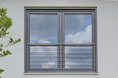 Scandinavian Architecture, Architecture Design, Glass Juliet Balcony, French Balcony, Balcony Window, Corridor Design, Room Colors, Window Treatments, Home Furnishings