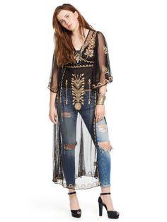Embroidered Sheer Tunic - Denim & Supply  Maxi Dresses - RalphLauren.com