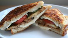 Eggplant-Parm Grilled Cheese.