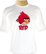 Camiseta Angry Birds Toons Red - Camisetas Personalizadas, Engraçadas e Criativas