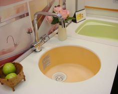 Best Molded In Sinks Images On Pinterest Sink Tops Bathroom - Molded bathroom sinks