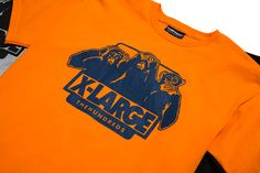 The Hundreds x XLARGE collab celebrating XLARGE's 25th Anniversary. $36 bucks for the tee. Unfortunately, the orange is already sold out.