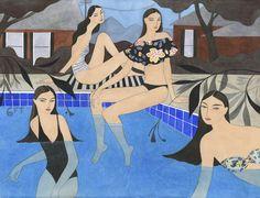 sisters in pool web res