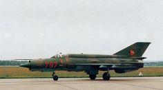 East German MiG-21bis.