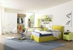 Moderní studentské pokoje - Luxusní dětský nábytek http://ZALF.cz