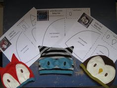 Moth and Sparrow: Baby Animal Hats Tutorial with Pattern  hat patterns, owl looks like it could be turned into a tux the linux penguin hat pretty easily