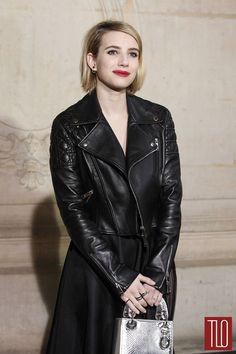 Emma-Thompson at Christian Dior Fall 2014 Show Paris