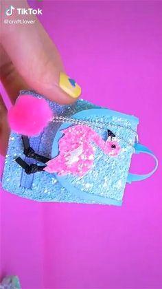 Diy Crafts Hacks, Diy Crafts For Gifts, Diy Arts And Crafts, Diy Projects, Barbie Dolls Diy, Diy Barbie Clothes, Diy Doll, Cool Paper Crafts, Paper Crafts Origami