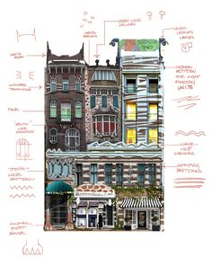 ANIMAL PATTERNS: My concepts in deciphering the architecture for downtown Zootopia. Fantasy Village, Fantasy Town, Environment Concept Art, Environment Design, Cas, Bg Design, Layout Design, Building Concept, Building Design