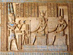 El Templo de Hathor; la diosa del amor, la belleza juvenil, la alegría, la maternidad y el erotismo. #Calma. #Inspiración #Turquesas #DeViaje #designinterior