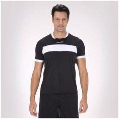 A Camiseta Penalty Digital Fitness Futebol Modelo Masculina - Manga Curta - Preta é um fardamento de alto desempenho, pois é produzido em Poliéster de alta qualidade, proporcionando um produto leve, ventilado e com perfeito caimento ao corpo. A Camisa Pena