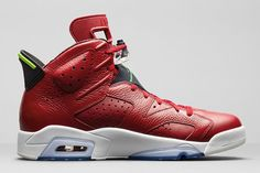 AIR JORDAN 6 (VARSITY RED)   Sneaker Freaker
