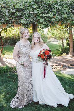 Mother of the Bride Dress | Fall Winery Wedding | Evangeline Lane Photography | Bridal Musings Wedding Blog