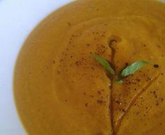 Crema de Zanahoria y Coliflor