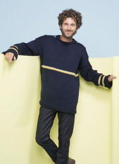 Mag. 06 - #01 Men's Boat-neck Sweater