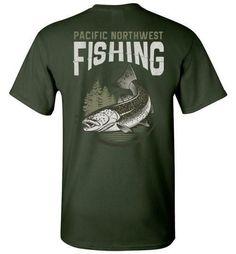 PNW - Pacific Northwest Fishing Short Sleeve Shirt