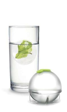 Who needs ice cubes when Ice Pods are a better alternative. Simply fill pods with mint leaves, basil, fruits or juices, freeze, remove, and plop the perfectly round balls into your drink.