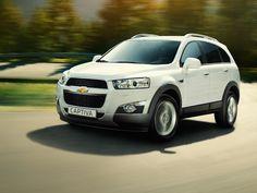 The 2011 Chevrolet Captiva - power, practicality, purpose.