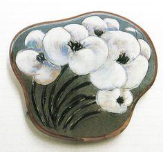 "Arabia ""Helja Liukko-Sundstrom"" (Erdinç Bakla archive) Spoon Rest, Finland, Coasters, Alice, Trays, Tableware, Archive, Plates, Flower"