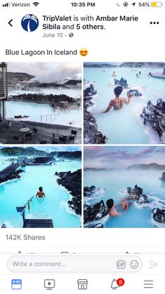 Blue lagoon in iceland Amazing Places On Earth, Beautiful Places To Travel, Oh The Places You'll Go, Cool Places To Visit, I Want To Travel, Vacation Places, Dream Vacations, Vacation Spots, All Nature