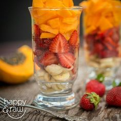 Eat your colors!  #Repost @happyandraw with @repostapp  Nothing like a little mixed fruit parfait to kick off this gorgeous weekend! It's so easy to put in a little extra care and attention when making our meals. How our meals look to us visually is also how we are nourished by them. Today's parfait I layered papaya on top of strawberries and sliced banana - truly eating the colors of the rainbow.  Oh and guess what we're about to announce our food photography retreat this October with…