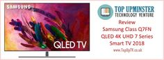 The Samsung QLED features a flat screen display with Quantum Dot LED Technology. The 2018 QLED TVs is said to be capable of producing stunning details and in-depth vibrant colours. Flat Screen Display, Tv Reviews, 4k Uhd, Smart Tv, Samsung, Technology, Electronics, Flatscreen, Tech