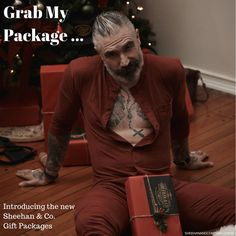 No Really I meant it... Introducing the New Sheehan & Co. Gift Packages!  Up to $120.00 savings!  #menswear #suspenders #waistcoat #mensgiftset #mensfashion
