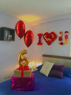 Resultado de imagen para decoracion para cumpleaños de mi novio