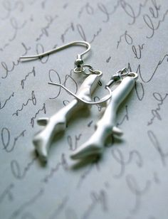 Silver Branch Earrings Buy 3 Get 1 Free by BrittanyChavers on Etsy, $14.00