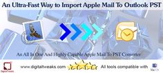 In case you desire to transfer your Mac Mail data to Outlook for Windows, which in simple terms mean, to export MBOX to PST you must try an Apple Mail to PST converter.