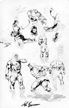 Buscema Sketches