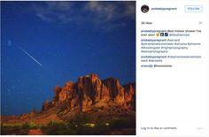 """""""Best meteor shower I've ever seen.""""(Photo: @probablypregnant)"""