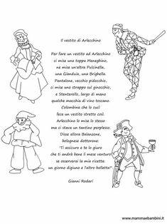 Carnevale Le Maschere Italiane Tuttodisegni Com Project