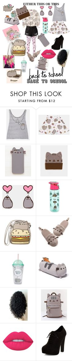 """""""#PVxPusheen"""" by lovedarkness7 ❤ liked on Polyvore featuring Pusheen, Gund, Lime Crime, New Look, contestentry and PVxPusheen"""