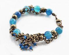 Bransoletka z agatem Jewelry Collection, Autumn, Jewellery, Fall, Jewels, Schmuck, Jewelry Shop, Jewlery, Jewelery