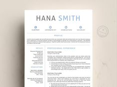 Resume Template CV Word by Quality Resume on College Resume Template, Resume Template Examples, Good Resume Examples, Best Resume Template, Resume Design Template, Cv Template, Teaching Resume, Resume Writing, Resume Cv