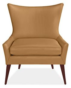 Lola Leather Chair - Chairs - Living - Room & Board