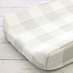 Fletcher's Farmhouse Changing Pad Cover Checker