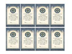 """★ Born to shine ★: Cartões para designação-""""Filhas em meu reino"""""""