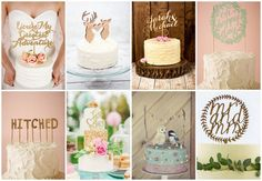 Wedding Cake Toppers To Adore♥ We've scoured our fave real weddings, our fave artisan stores and our fave sponsor creations to bring you our selections of no less than27cutie patootie wedding cake toppers. From swirly and sparkly to rugged and Read More...