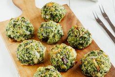 Receta vegetariana: deliciosas albóndigas de brócoli