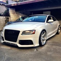 Audi A5 with Vossen Wheels. Too much?