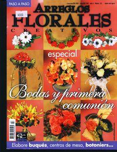 Revistas de manualidades gratis: como hacer arreglos florales paso a paso
