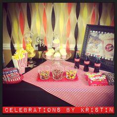 Movie Night Party for 4! www.celebrationsbykristin.com
