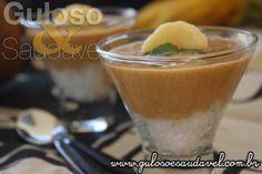 Este Creme de Banana e Café é uma delicia reconfortante, é um doce simples e rápido de fazer!  #Receita aqui: http://www.gulosoesaudavel.com.br/2016/05/13/creme-banana-cafe/