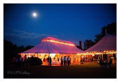 Wedding Reception Lighting, Tent Wedding, Castle Hill, Newport RI
