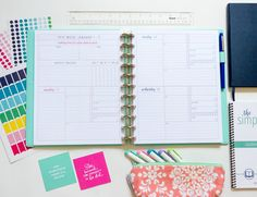 The Organized Life Planner -probably my favorite I've found so far, but a little $$$